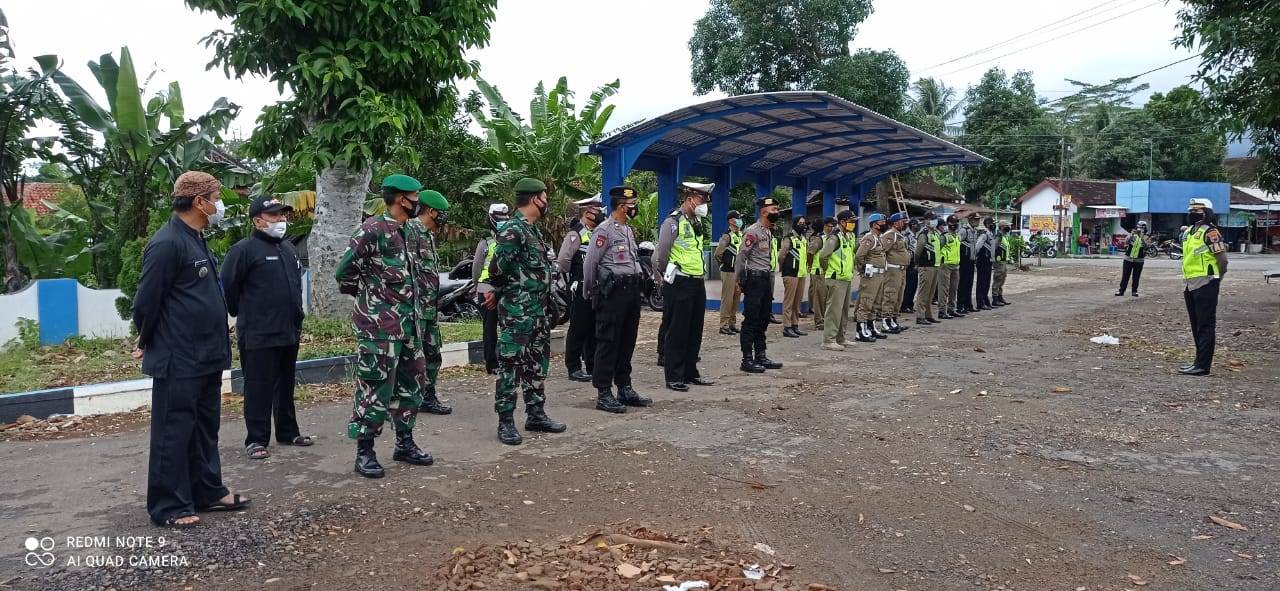 Operasi Gabungan Penerapan Disiplin Prokes
